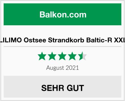 LILIMO Ostsee Strandkorb Baltic-R XXL Test