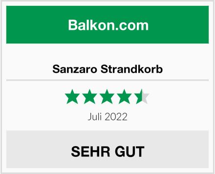 Sanzaro Strandkorb Test