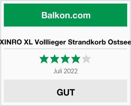 XINRO XL Volllieger Strandkorb Ostsee Test