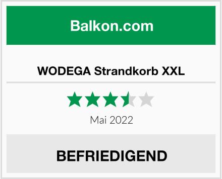 WODEGA Strandkorb XXL Test