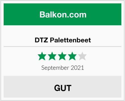 DTZ Palettenbeet Test