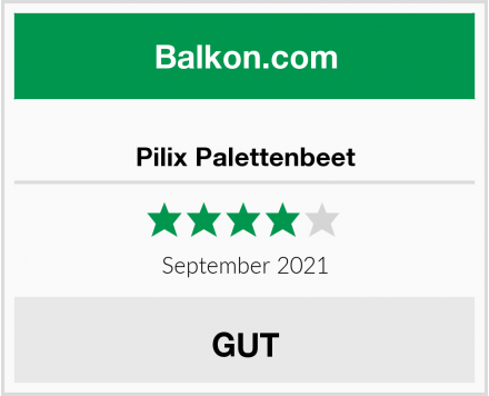 Pilix Palettenbeet Test