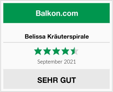 Belissa Kräuterspirale Test