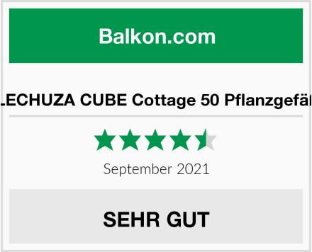 LECHUZA CUBE Cottage 50 Pflanzgefäß Test