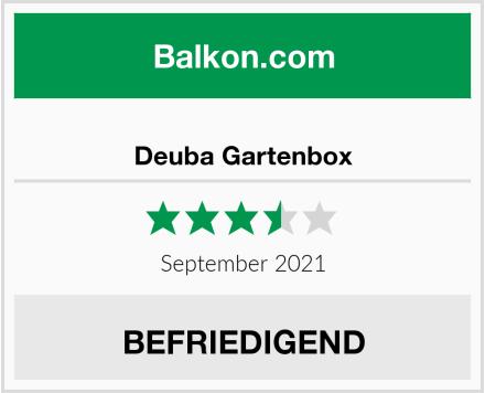 Deuba Gartenbox Test