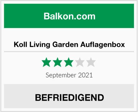 Koll Living Garden Auflagenbox Test