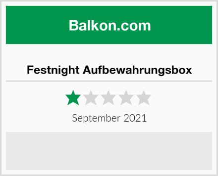 Festnight Aufbewahrungsbox Test