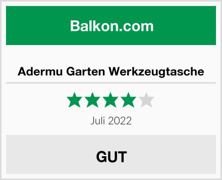 Adermu Garten Werkzeugtasche Test