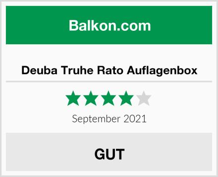Deuba Truhe Rato Auflagenbox Test