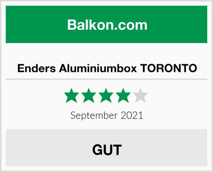 Enders Aluminiumbox TORONTO Test