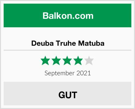 Deuba Truhe Matuba Test