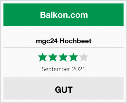 mgc24 Hochbeet Test