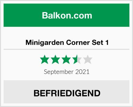 Minigarden Corner Set 1 Test