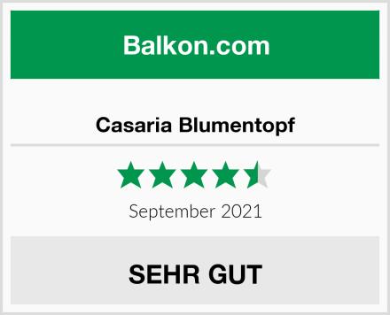 Casaria Blumentopf Test