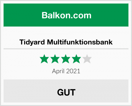 Tidyard Multifunktionsbank Test