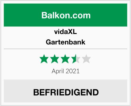 vidaXL Gartenbank Test