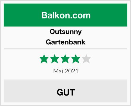 Outsunny Gartenbank Test