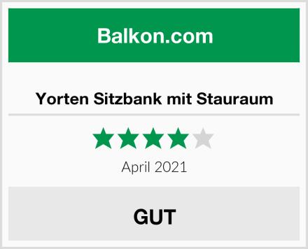 Yorten Sitzbank mit Stauraum Test