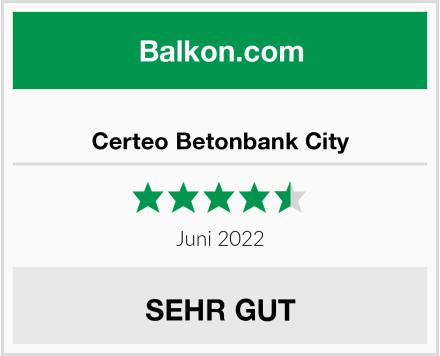 Certeo Betonbank City Test