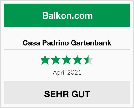 Casa Padrino Gartenbank Test