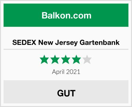 SEDEX New Jersey Gartenbank Test