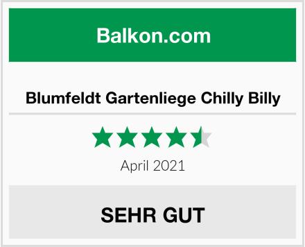 Blumfeldt Gartenliege Chilly Billy Test