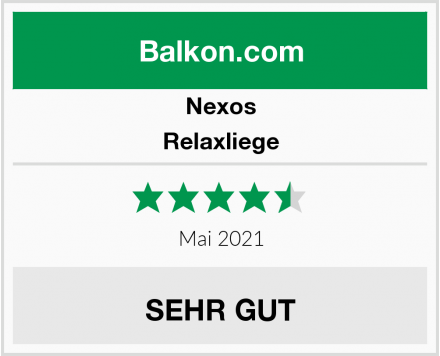 Nexos Relaxliege Test