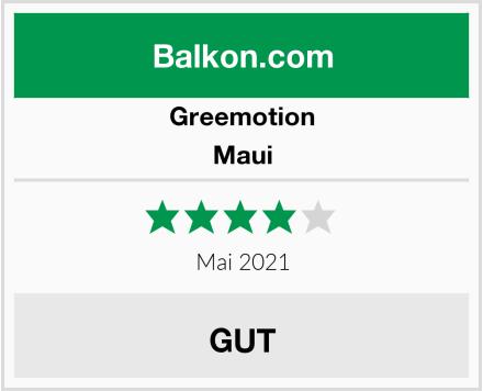 Greemotion Maui Test
