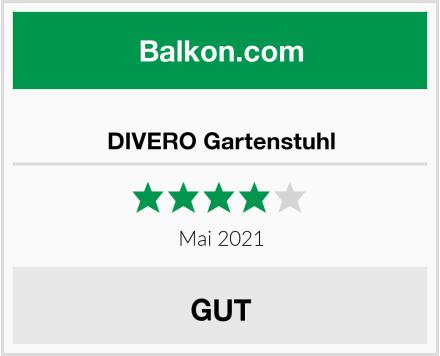 DIVERO Gartenstuhl Test