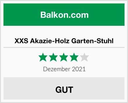 XXS Akazie-Holz Garten-Stuhl Test