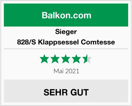 Sieger 828/S Klappsessel Comtesse Test