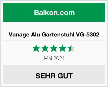 Vanage Alu Gartenstuhl VG-5302 Test