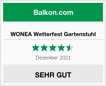 WONEA Wetterfest Gartenstuhl Test