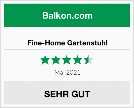 Fine-Home Gartenstuhl Test