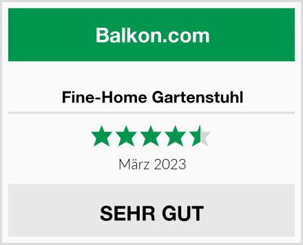 Fine-Home Gartenstuhl Test