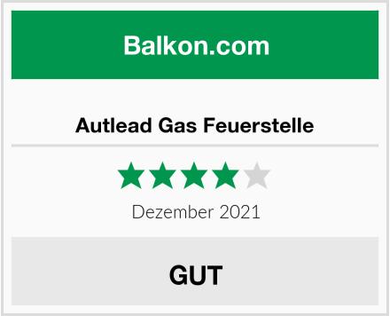 Autlead Gas Feuerstelle Test