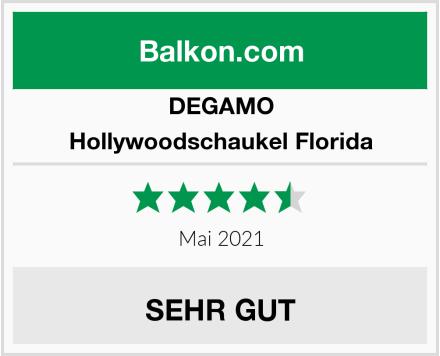 DEGAMO Hollywoodschaukel Florida Test