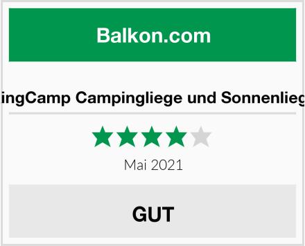 KingCamp Campingliege und Sonnenliege Test