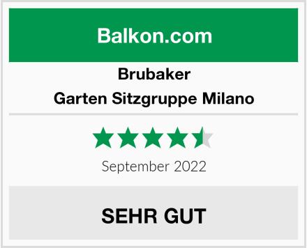 Brubaker Garten Sitzgruppe Milano Test