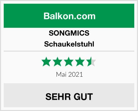 SONGMICS Schaukelstuhl Test