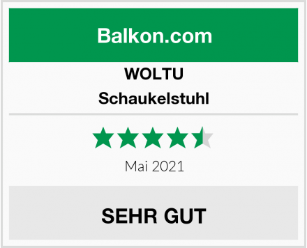 WOLTU Schaukelstuhl Test