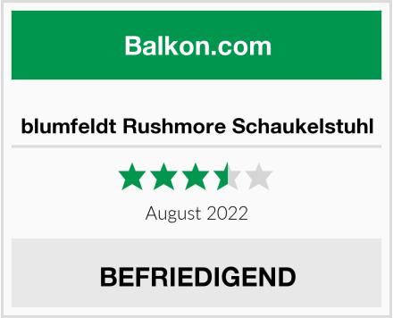 blumfeldt Rushmore Schaukelstuhl Test