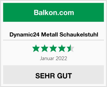 Dynamic24 Metall Schaukelstuhl Test