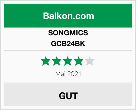 SONGMICS GCB24BK Test