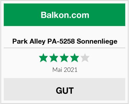 Park Alley PA-5258 Sonnenliege Test