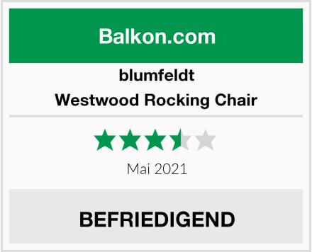 blumfeldt Westwood Rocking Chair Test