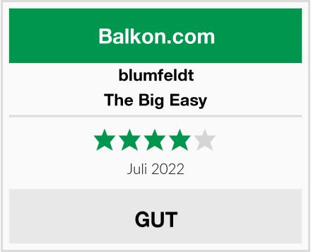 blumfeldt The Big Easy Test
