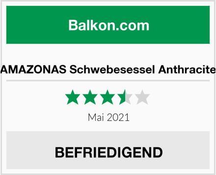 AMAZONAS Schwebesessel Anthracite Test