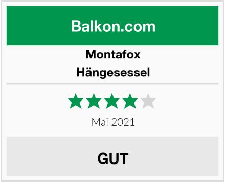 Montafox Hängesessel Test