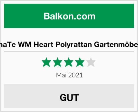 IntimaTe WM Heart Polyrattan Gartenmöbel Set Test